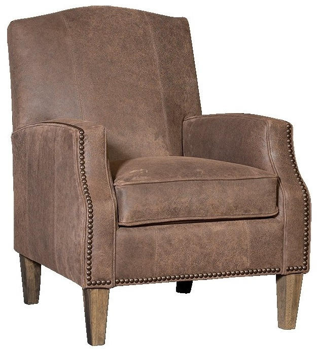 Chelsea Home Garrison Chair Inside Out Coffee