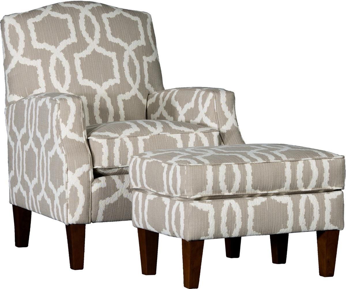 Chelsea Home Chair Ottoman Kidada Flax