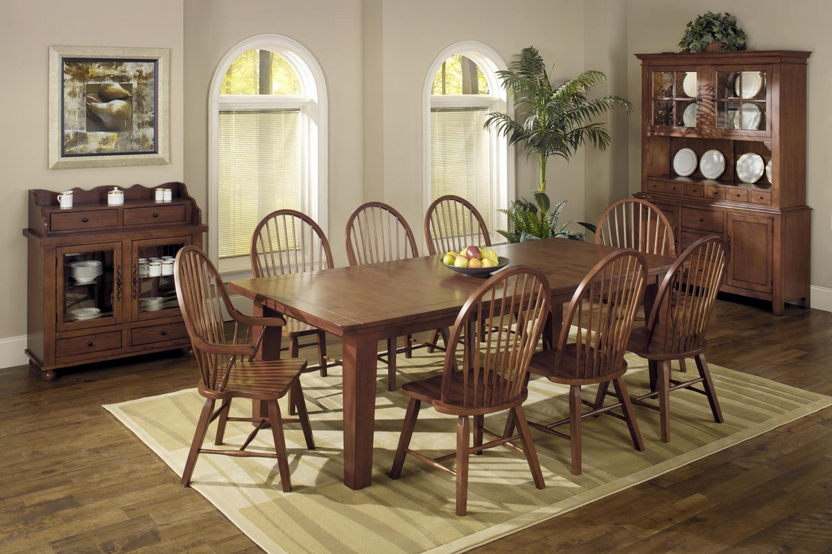 Chelsea Home Dining Table Tobacco