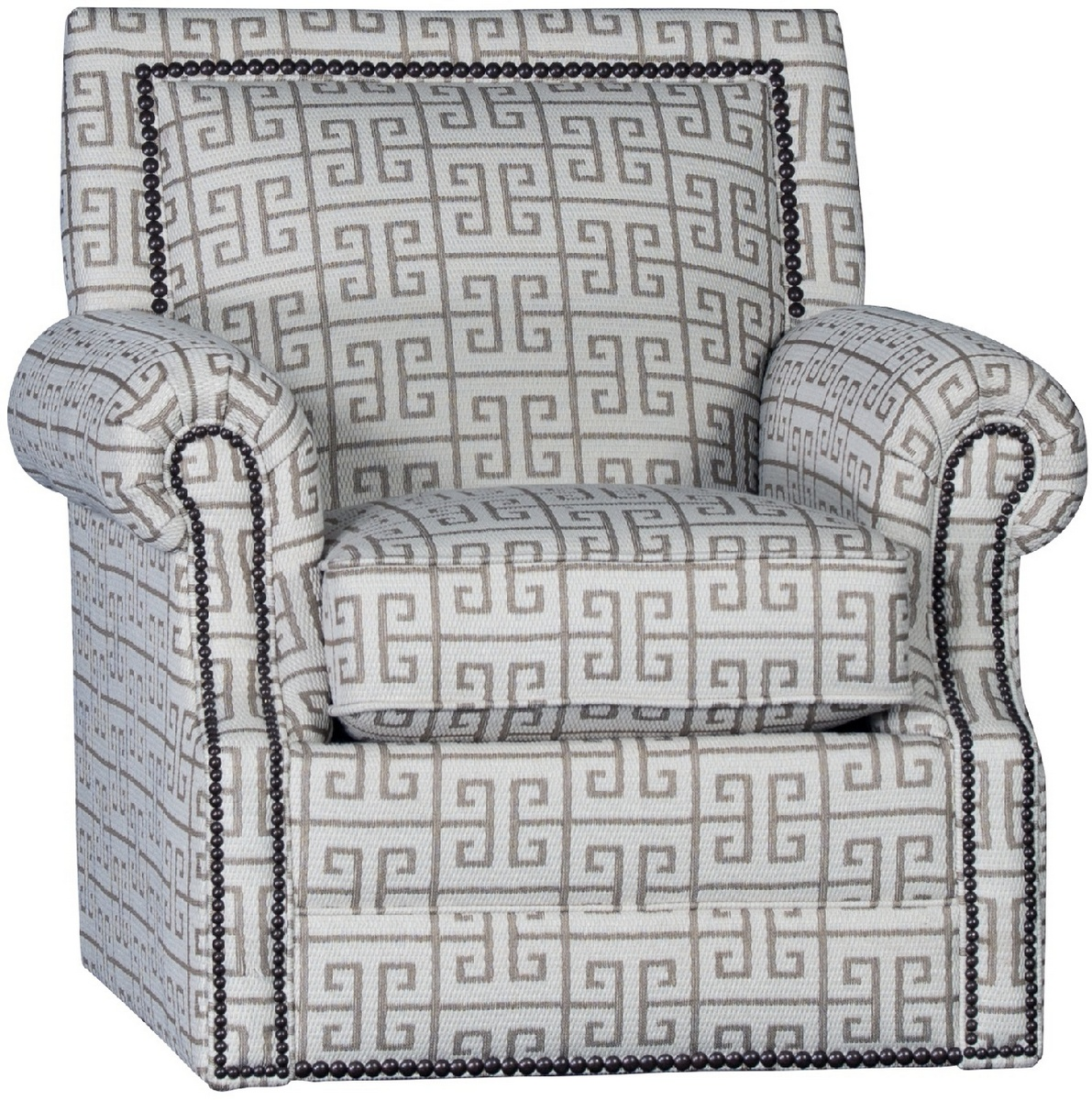 Chelsea Home Habib Swivel Chair Apollonia Latte