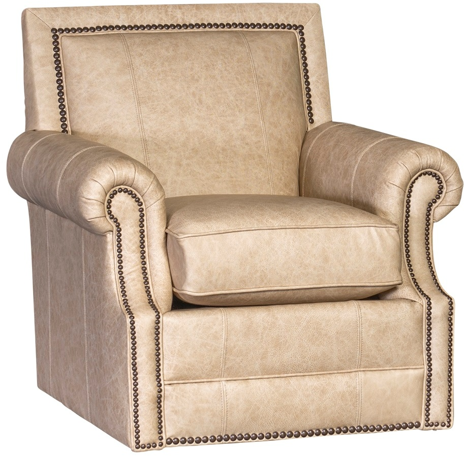 Chelsea Home Habib Swivel Chair Omaha French Vanilla