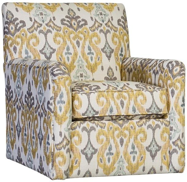 Chelsea Home Hadrian Swivel Glider Chair Sandoa Acacia