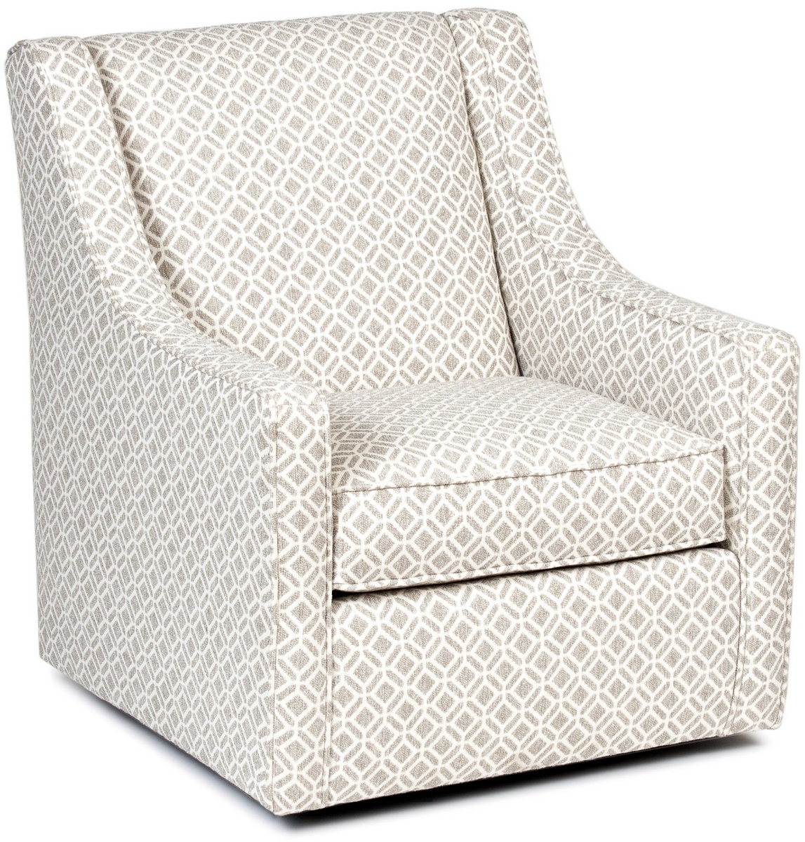 Chelsea Home Halifax Swivel Chair Del Ray Linen