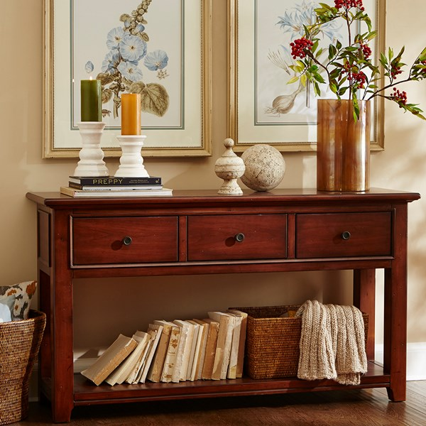 Harbor House Asheville Console Table Brown