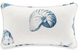 "Harbor House Beach House 12x20"" Oblong Pillow in Blue - Olliix HH30-106"