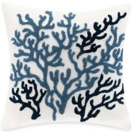 "Harbor House Beach House 18x18"" Decorative Pillow in Blue - Olliix HH30-272"