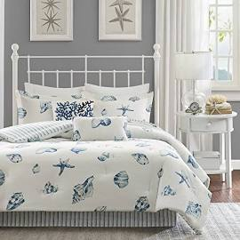 Harbor House Beach House King Comforter Set in Blue - Olliix HH10-096