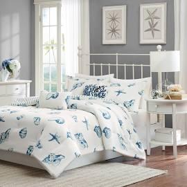 Harbor House Beach House Twin Comforter Set in Blue - Olliix HH10-093