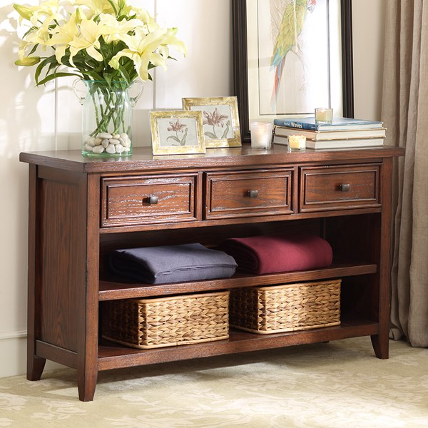 Harbor House Brandon Console Table Brown