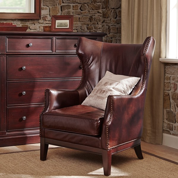 Harbor House Ernest Accent Chair Brown