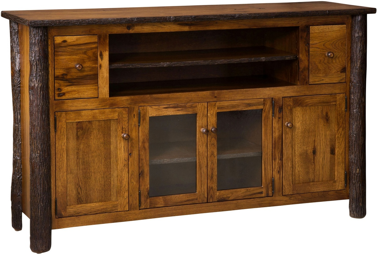 Chelsea Home Hassan Tv Cabinet Hickory Asbury Stain