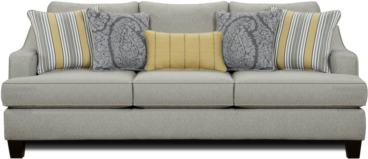 Chelsea Home Hope Sleeper Sofa Chalet Platinum