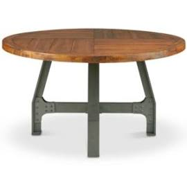 Round Dining Gathering Table