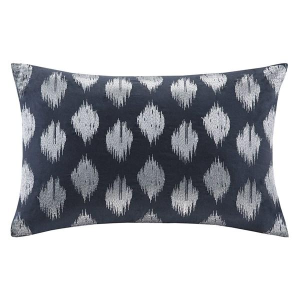 Embroider | Pillow | Navy | Dot
