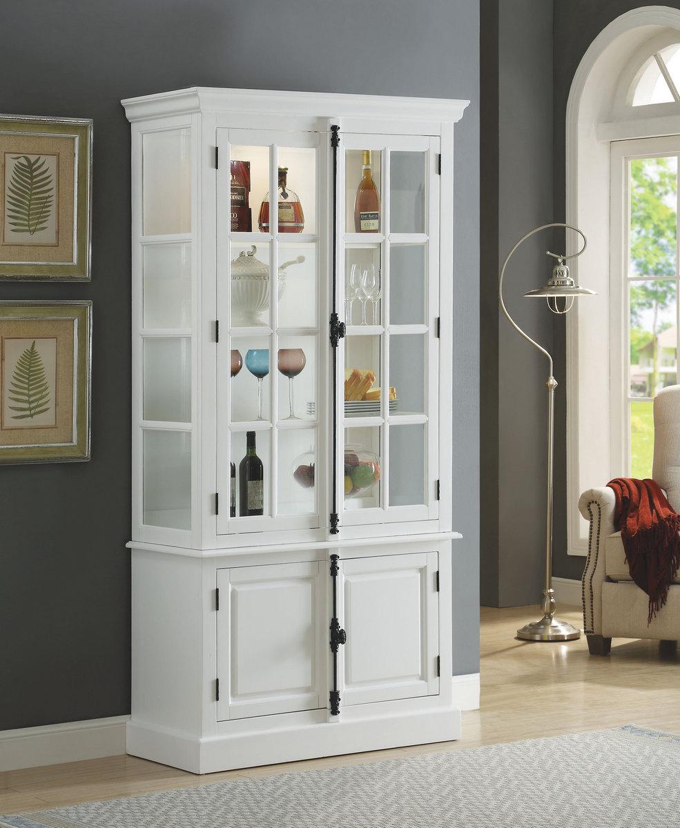 Acme Iovius Curio Cabinet White
