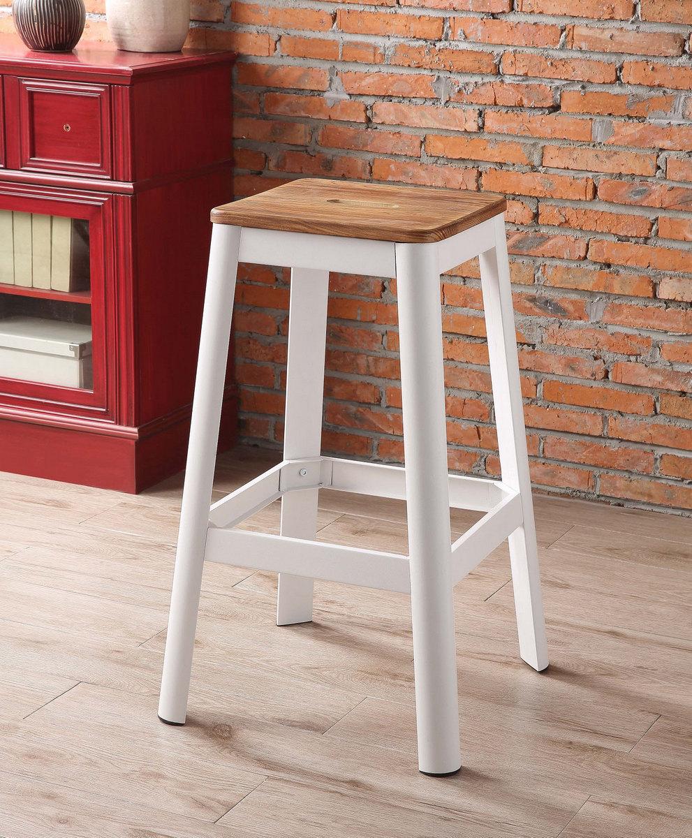 Furniture   Natural   Stool   White   Bar