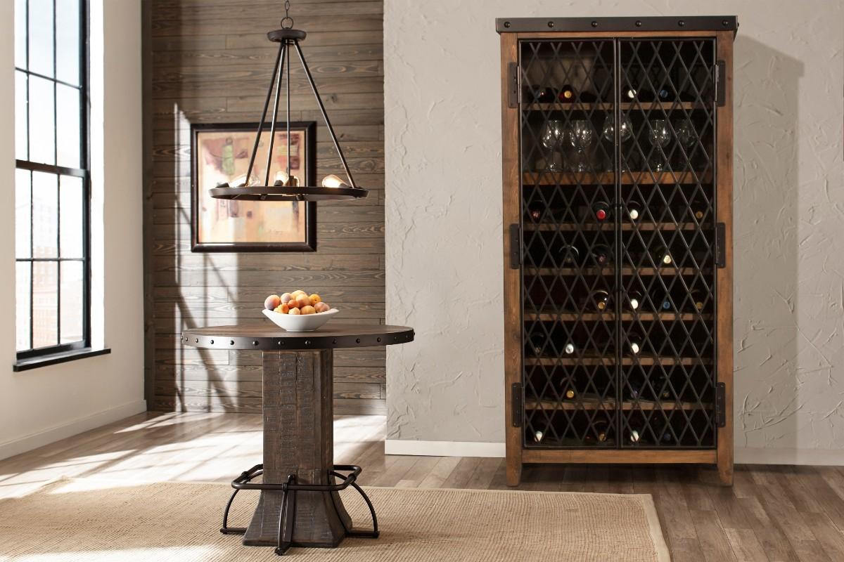 Hillsdale Jennings Tall Wine Cabinet