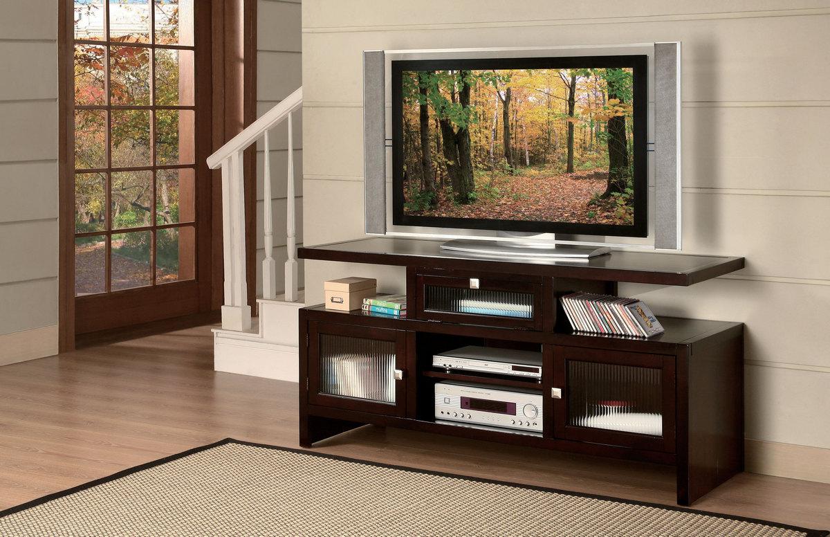 Acme Jupiter Tv Stand Foldable Espresso