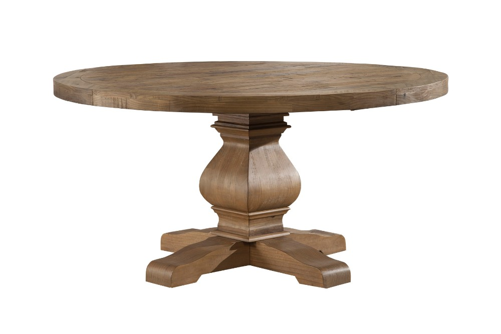 Alpine Round Solid Pine Dining Table