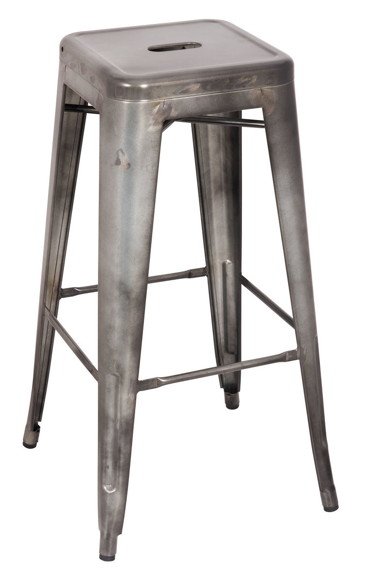 Furniture | Antique | Silver | Stool | Bar