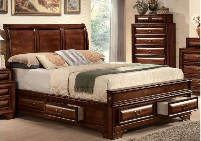 Acme Furniture King Bed Storage Photo