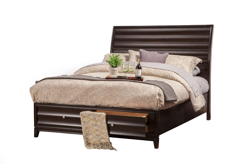 Alpine Queen Storage Bed Drawers