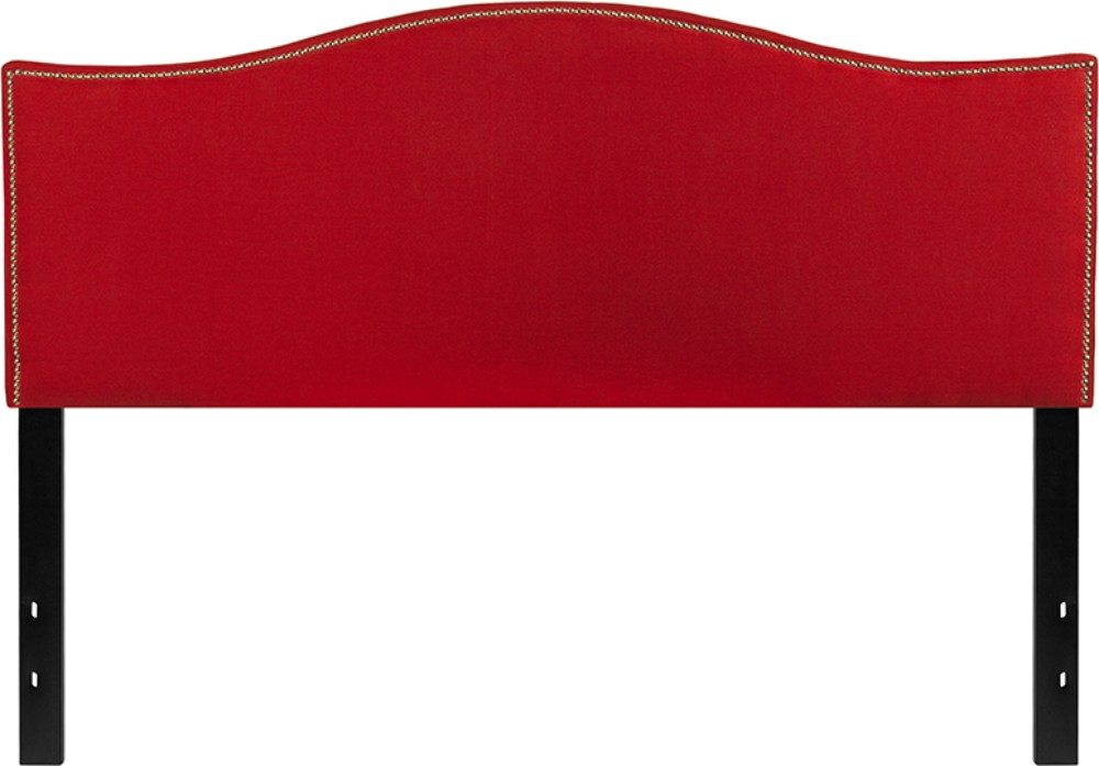Decorative | Upholster | Furniture | Fabric | Queen | Flash | Nail | Size | Red