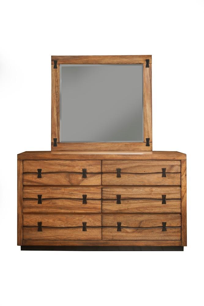 Alpine Live Edge Drawer Dresser