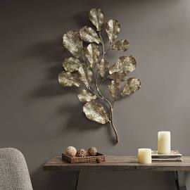 Madison Park Darlow Metal Wall Decor In Gold Olliix Mp167 0170