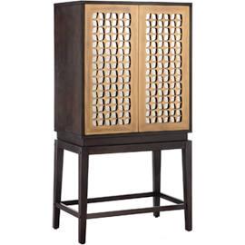 Madison Park Fairway Wine Cabinet Brown