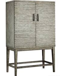 Madison Park West Ridge Wine Cabinet Grey