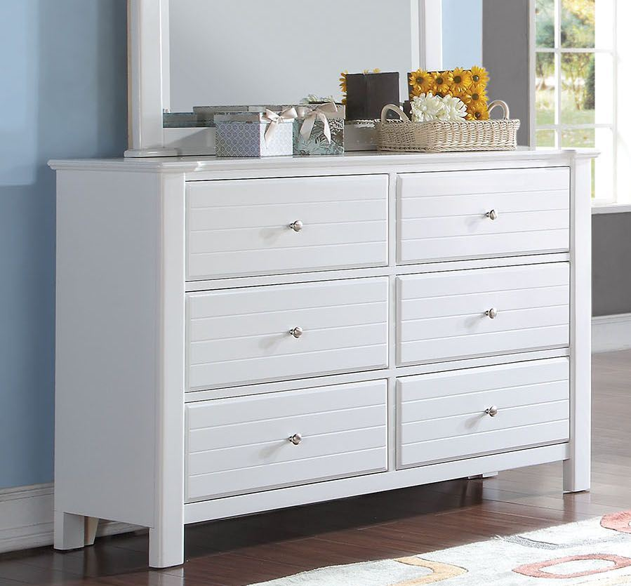 Acme Mallowsea Dresser White