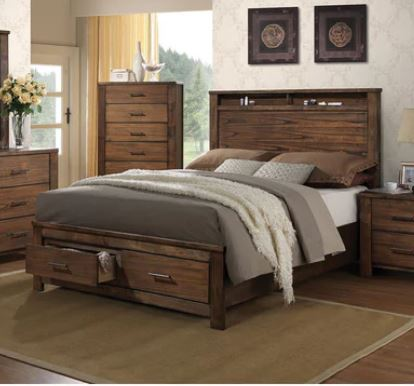 Acme King Bed Storage