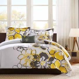 Mi Zone Allison Twin/Twin XL Comforter Set in Yellow - Olliix MZ10-074