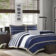 Mi Zone Ashton Twin/Twin XL Comforter Set in Navy - Olliix MZ10-084
