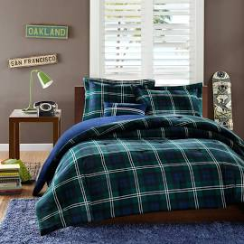 Mi Zone Brody Twin/Twin XL Comforter Set in Blue - Olliix MZ10-098