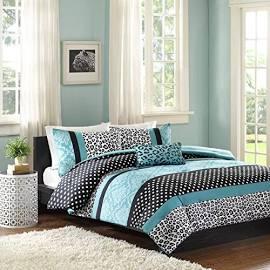 Mi Zone Chloe Twin/Twin XL Comforter Set in Teal - Olliix MZ10-225