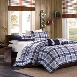 Mi Zone Elliot Twin/Twin XL Comforter Set in Blue - Olliix MZ10-046