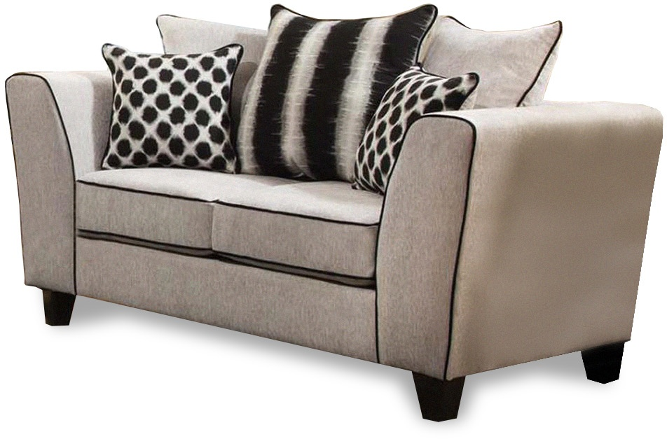 Chelsea Home Millie Loveseat Riley Cement