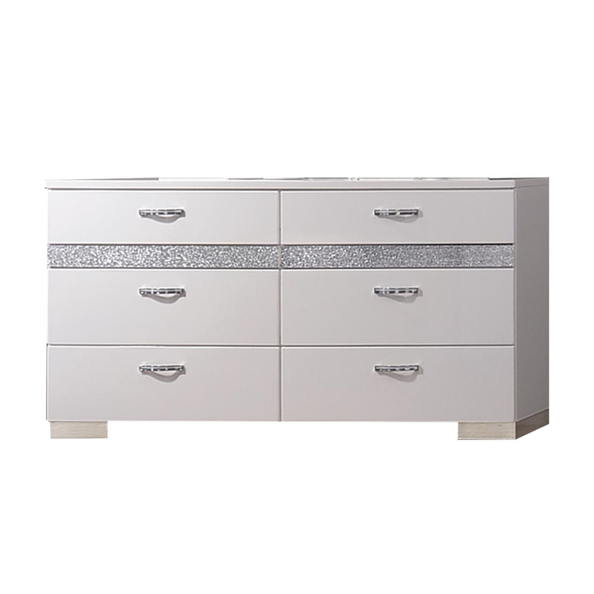 Acme Naima Dresser White High Gloss