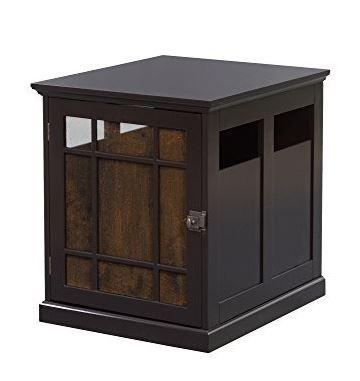 Neal Dog Crate w/ Wood Slats - Elegant Home Fashions ELG-907