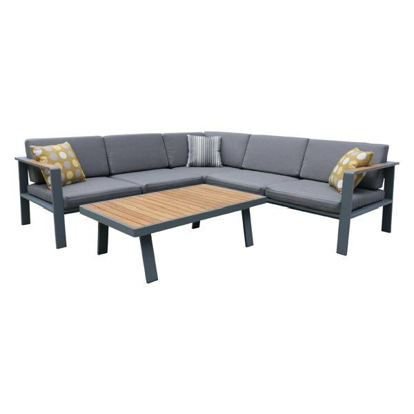 Armen Living Sectional Set Patio