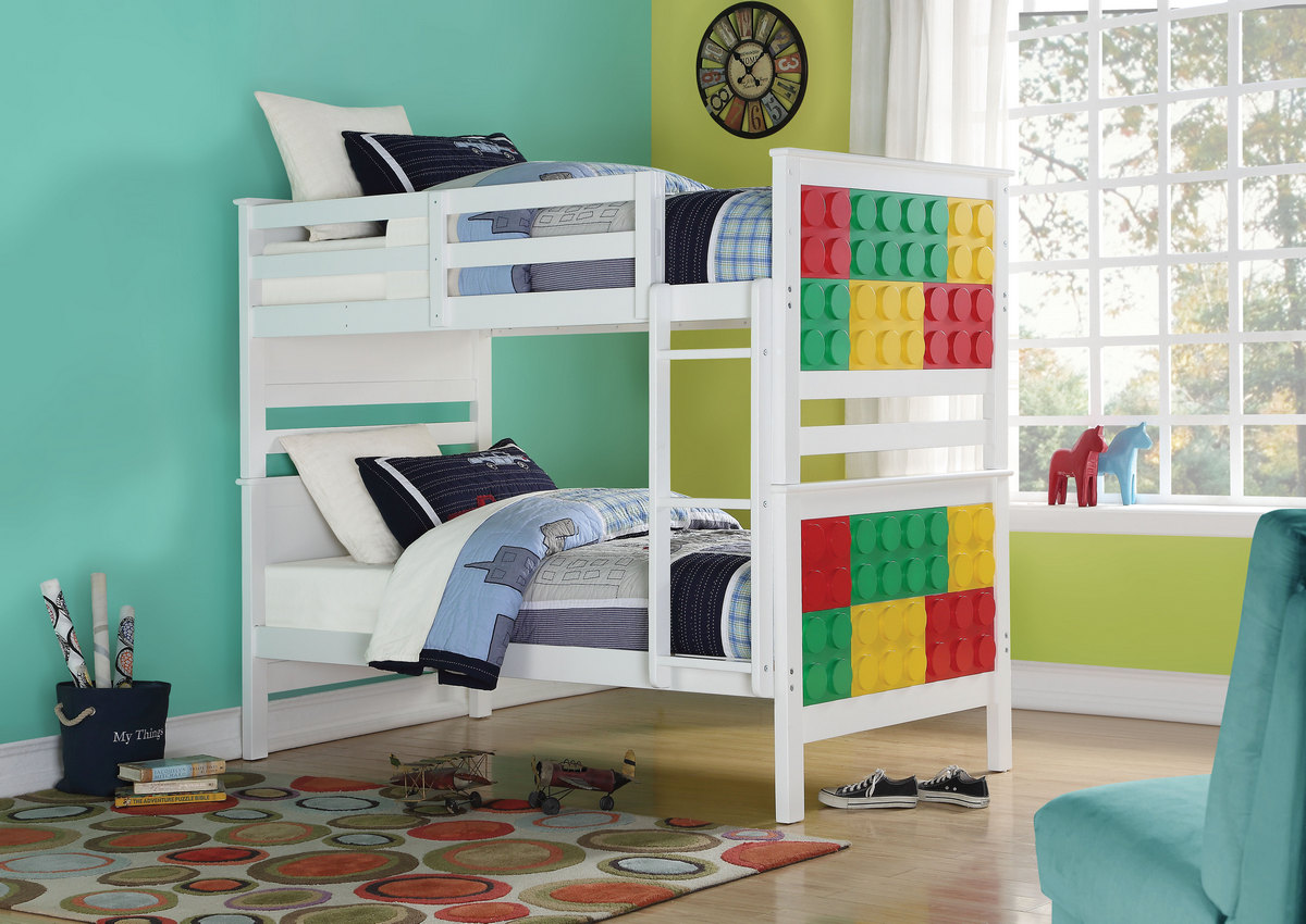 Acme Playground Twin Bunk Bed