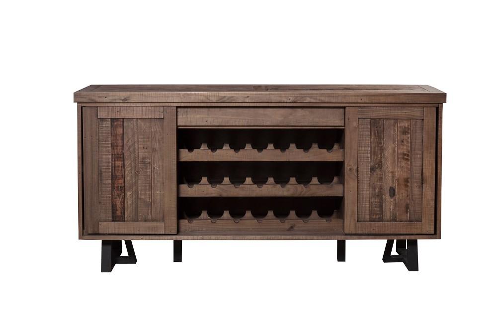 Alpine Prairie Sideboard Wine Holder