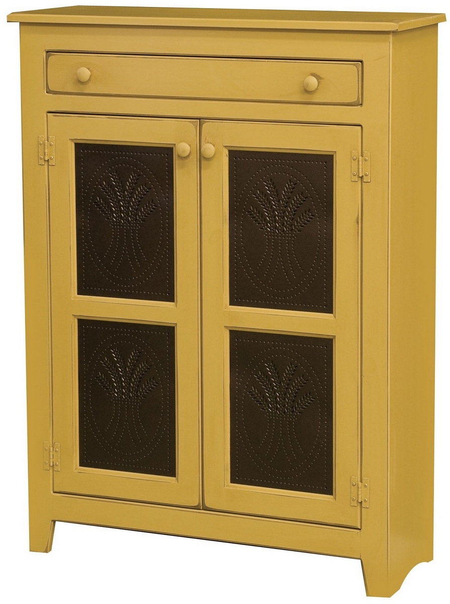 Chelsea Home Prudance Pie Safe Wheat Tins