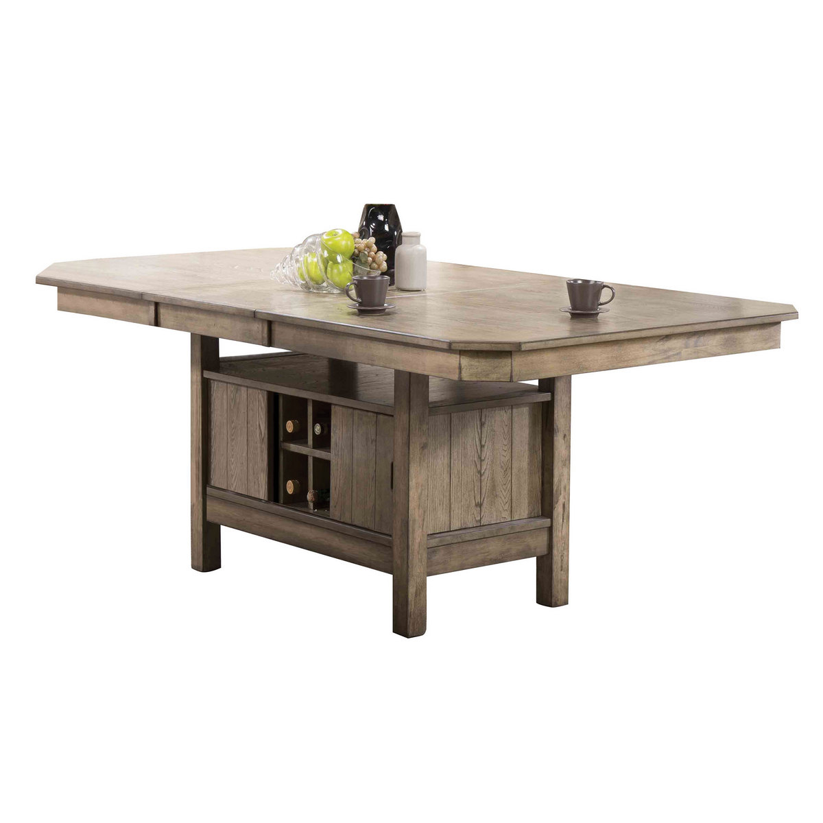 Acme Ramona Dining Table Rustic Oak