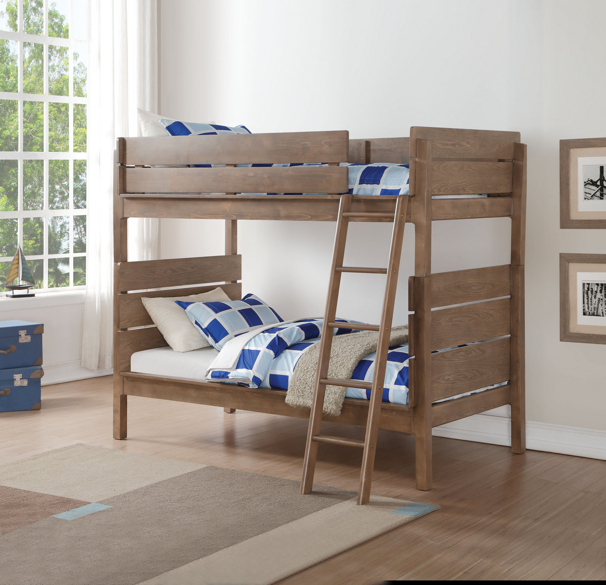 Acme Furniture Twin Bunk Bed Photo