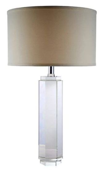 Collection | Elegant | Crystal | Chrome | Table | Light | Lamp