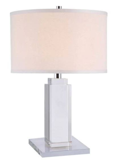 Collection   Elegant   Crystal   Chrome   Table   Light   Lamp