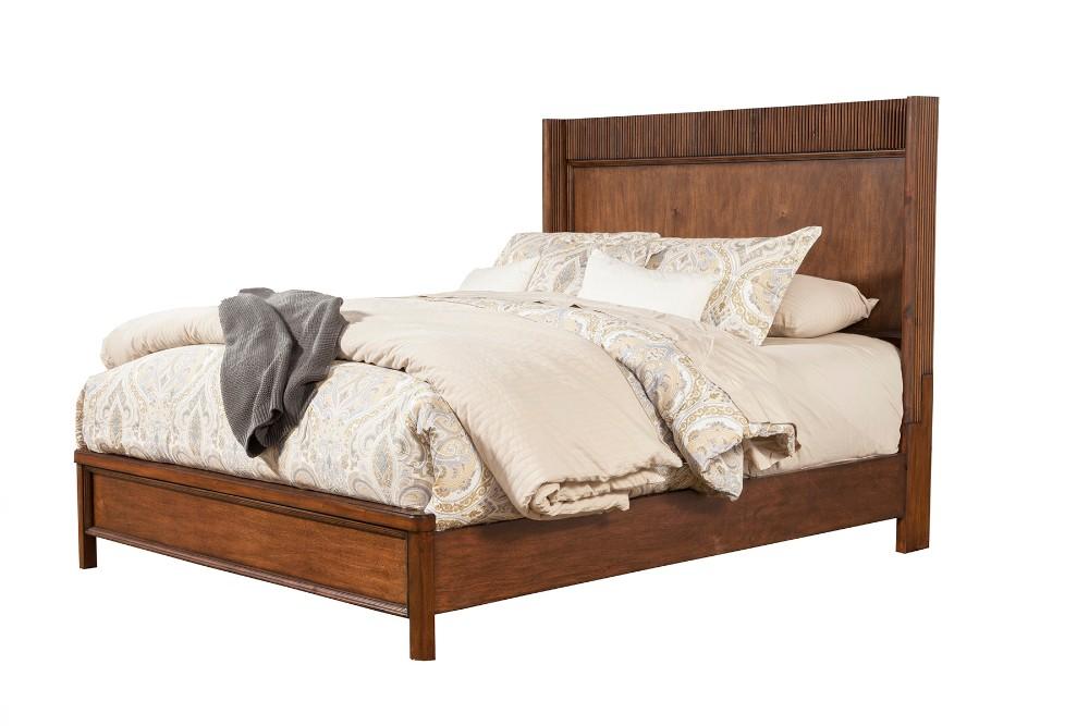 Rex Queen Panel Bed - Alpine Furniture 3900-01Q